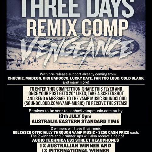 Three Days - Vengeance (Spewy Remix) (FREE DOWNLOAD)