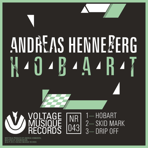 Andreas Henneberg - Skid Mark (Voltage Musique Records)