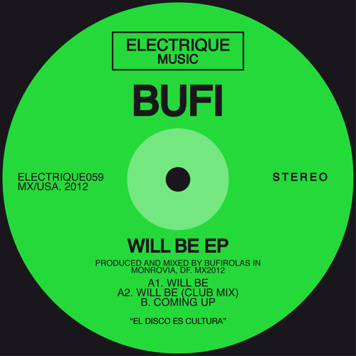 02- BUFI - WILL BE (EXTENDED CLUB MIX)