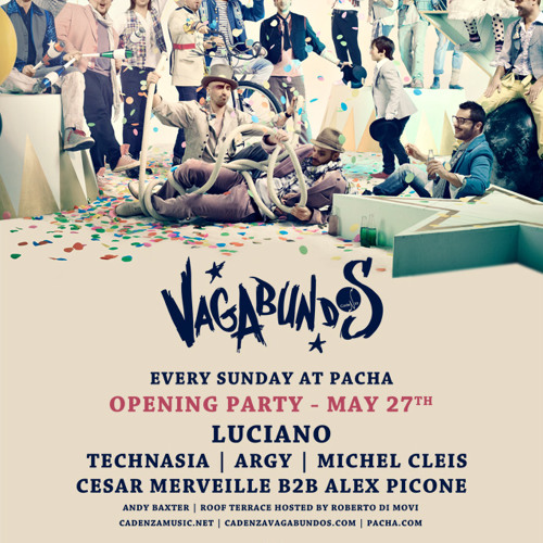 Technasia @ Vagabundos Opening Party, Pacha Ibiza 27.05.2012