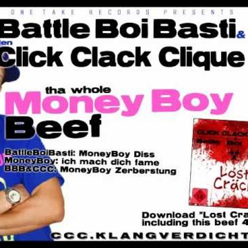 Battle zwischen Moneyboy und Battle boi Basti