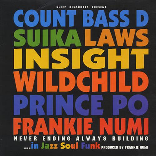 """Frankie Numi """" Never Ending Always Building in Jazz Soul Funk"""" Ep"""