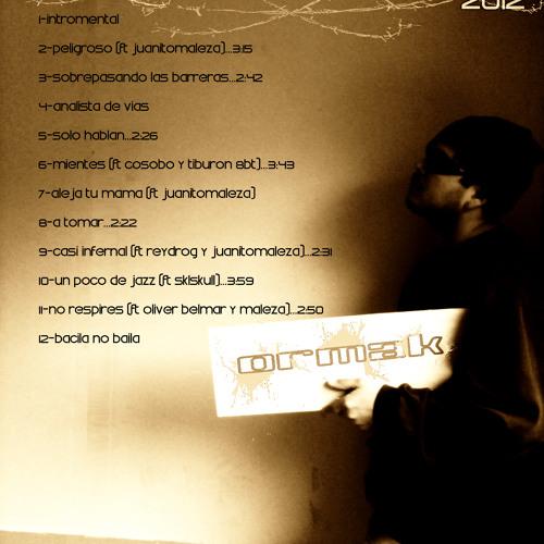 """Ormak-EL grito de la calle(reydrog produce-beat Charodey Jeddy)""""free download"""""""