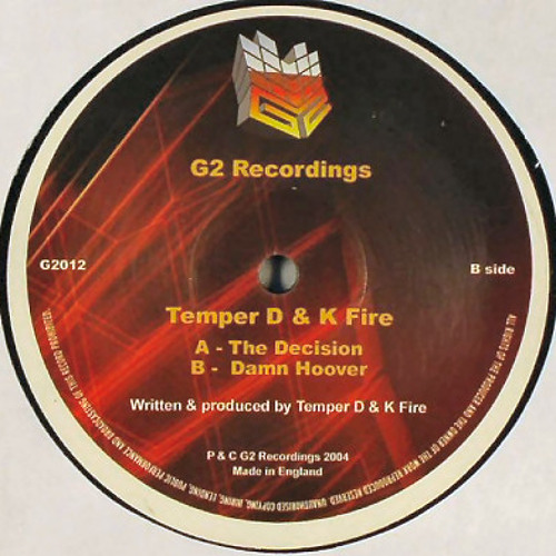 Temper D And K Fire - The Decision (G2)