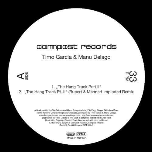 Timo Garcia & Manu Delago - The Hang Track Part II [Compost Records]