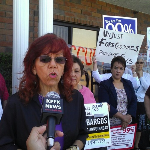 Occupy LA Targets Bank Ally Lawmaker