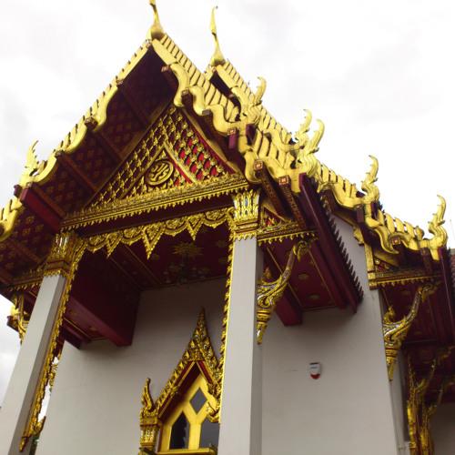 Temple at Buddhapadipa Thai Temple