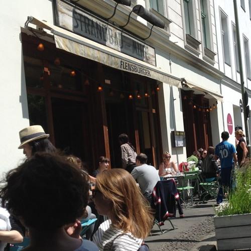 Sunday accordion at Strandbad-Mitte