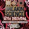 Hazard - breaking science 10th birthday