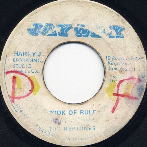 The Heptones - Book Of Rules (Djtzinas reggaeton Edit)