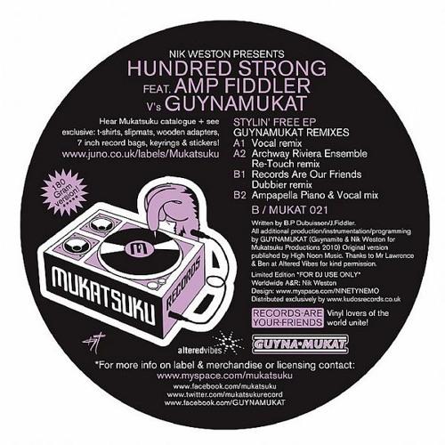 B2.  Stylin' Free - Guynamukat Ampapella Piano & vocal mix