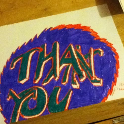 """""""Thank you"""" Remix"""