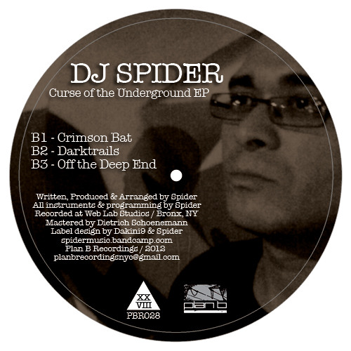 "5 clips from ""Curse Of The Underground EP"" - DJ Spider (12"" vinyl only)"