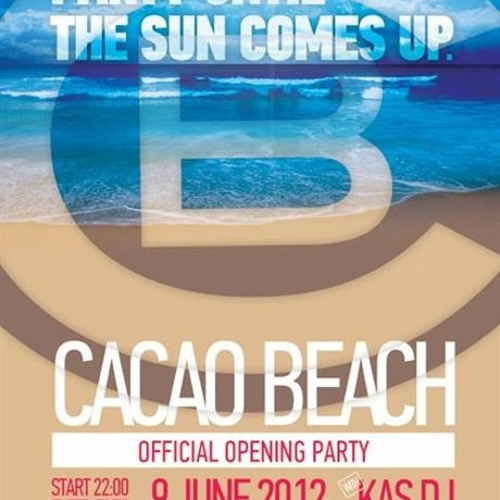 Kas DJ & Boogie @ Cacao Beach Official Opening