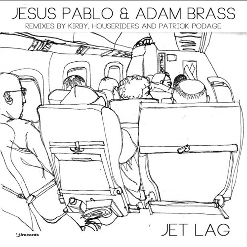 Jesus Pablo & Adam Brass - Jet Lag (Patrick Podage rmx))[ i! Records - IRECEP496 ] Out Now