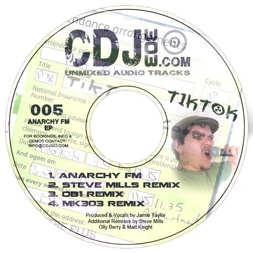 Tik Tok - Anarchy FM (OB1 Remix) - [CDJ303 005]