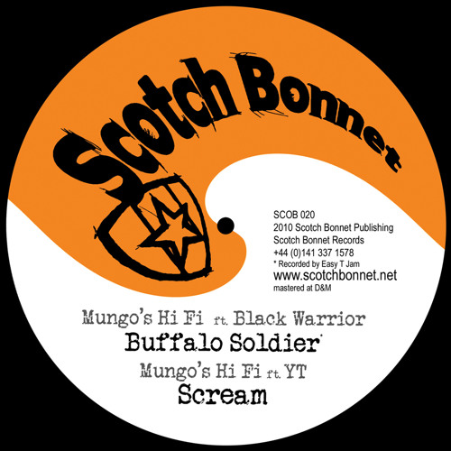SCOB020 B1 Mungo's Hi Fi ft Black Warrior-Buffalo Soldier