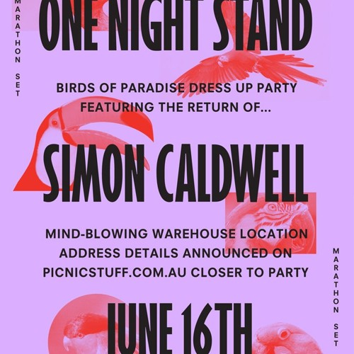 Simon Caldwell - One Night Stand 30/07/11 Excerpt
