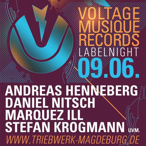 Marquez Ill at Voltage Musique Labelnight - Triebwerk Magdeburg