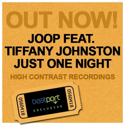 JOOP ft. Tiffany Johnston - Just One Night (Radio Edit)