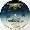Bohannon & Dr.Perri Johnson ''Let's Start II Dance Again'' 12''