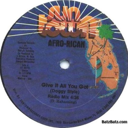 Afro Rican - Give It All You Got - DJ Endy Bass Re-Rub
