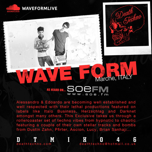DTMIX046 - Wave Form [Marche, ITALY]