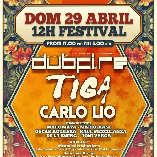 Dubfire & Carlo Lio Live @ elrow happy sundays 2/2