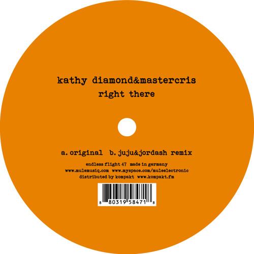 Kathy Diamond & Mastercris- Right There- Original mix