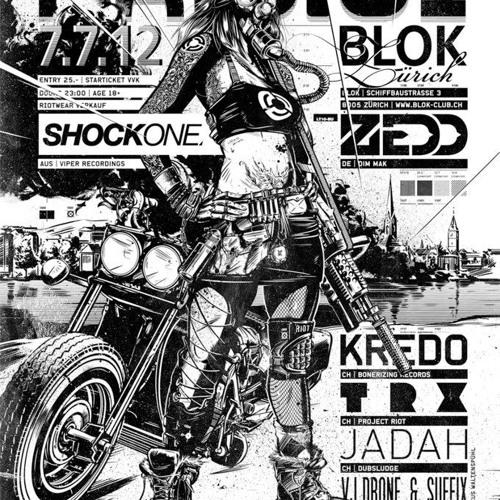 Project Riot pres. RAID.01 - promomix by TRX - june 2012 (CD)