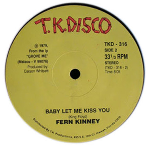 Fern Kinney - Baby Let Me Kiss You (Leftside Wobble Kiss-Kiss Edit)