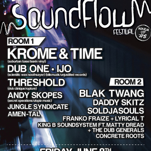 IJO Live @ Sound Flow Warmup #5 08/06/12