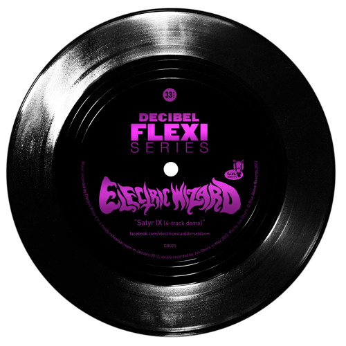 "Electric Wizard ""Satyr IX (4-track demo)"" (dB020)"