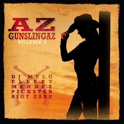 Pickster One & Riot Earp - Everyone Gets Murdered (AZ Gunslingaz Vol.2)