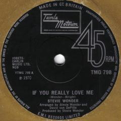 Stevie Wonder - If You Really Love Me [Honest Lee Re-Edit]