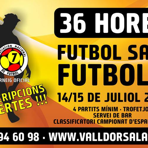 36 Hores FS i F7 - 14 i 15 de Juliol - Des de 215 €/equip