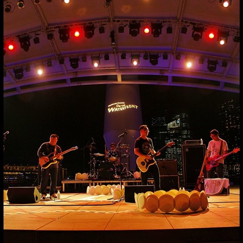 Paint The Sky Red Esplanade Live By
