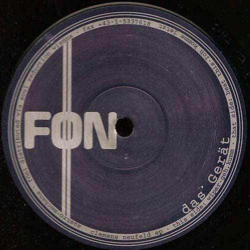 Clemens Neufeld - Kraftfeld (Original Mix) (FÖN Records 1999)