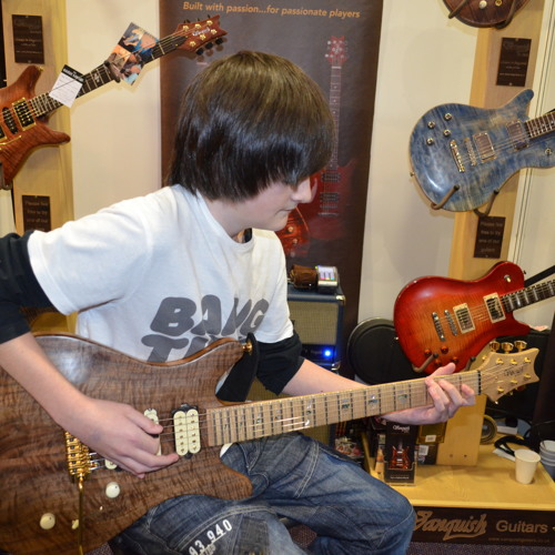 Steve Vai Die to Live cover by Callum Williams