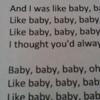 Baby Justin Bieber Piano Track