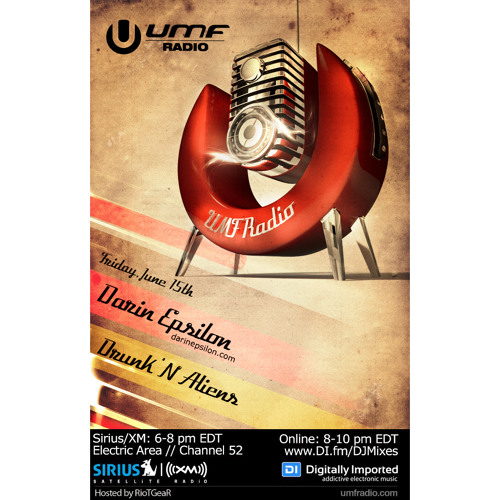 Ultra Music Festival Radio Guest Mix / Live from Vertigo in Costa Rica [June 2012]