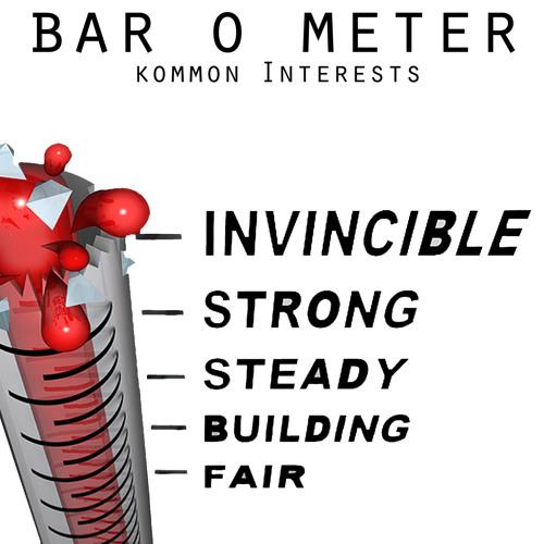 Bar - O - Meter - Kommon Interests (Original Mix) 2Kobras Records FREE DOWNLOAD!!!