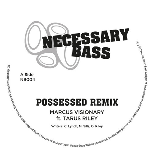 Tarus Riley - Possessed - Marcus Visionary Remix - OUT NOW - All major digital outlets!