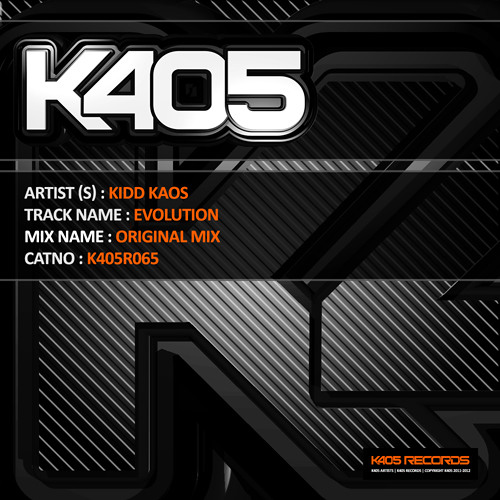 Kidd Kaos - Evolution (Original Mix)