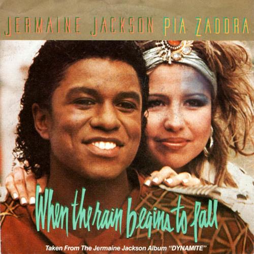 Jermaine Jackson & Pia Zadora - When The Rain Begins To Fall (BART BEE DANCE REMIX) DEMO