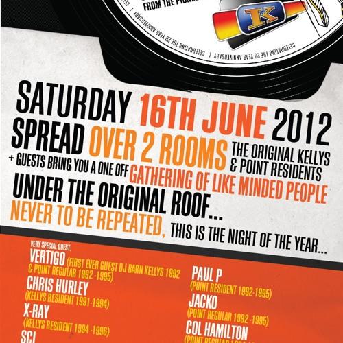 Chris Hurley - Kellys & The Point Inn Reunion - 16 June 2012
