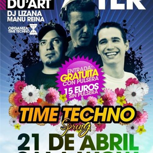 Du'ArT @ Time Techno Festival ( AFTER HOURS) Granada , Spain , 21.04.2012