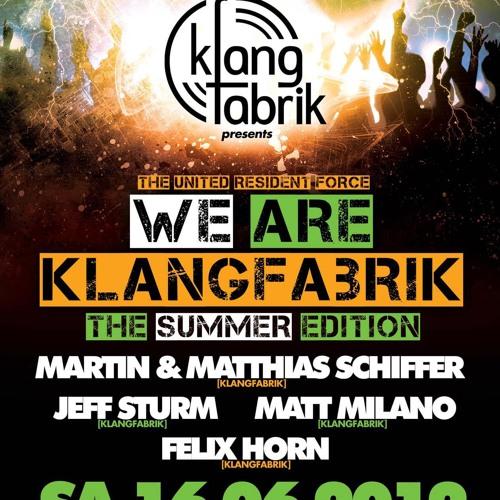 Matt Milano 16.06.12 @ Klangfabrik