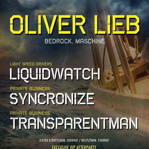 Free DJ Set: Oliver Lieb Live at Private Mad Boat Budapest 2012 06 16