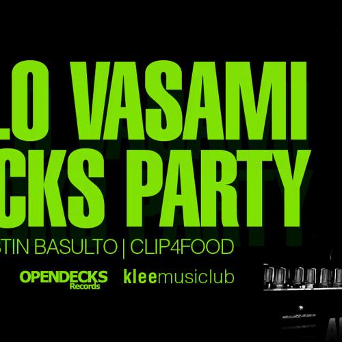 marcelo vasami live @ opendecks (16.06.12) pt.2